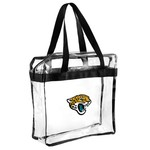 Team Beans Jacksonville Jaguars Clear Messenger Bag