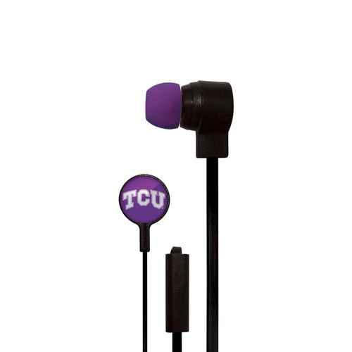 Mizco Texas Christian University Big Logo Earbuds