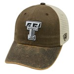 Top of the World Adults' Texas Tech University ScatMesh Cap