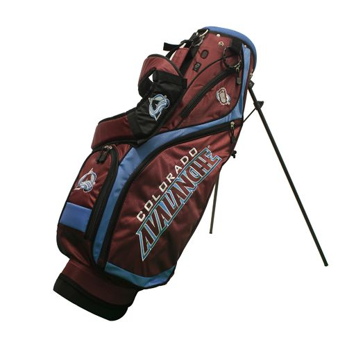 Team Golf Colorado Avalanche Nassau Golf Stand Bag