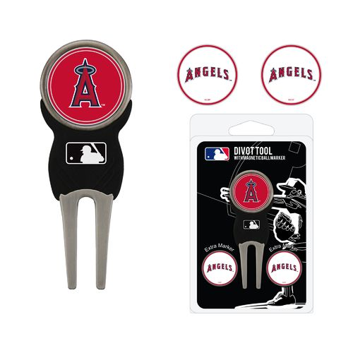 Team Golf Los Angeles Angels Divot Tool and Ball Marker Set - view number 1