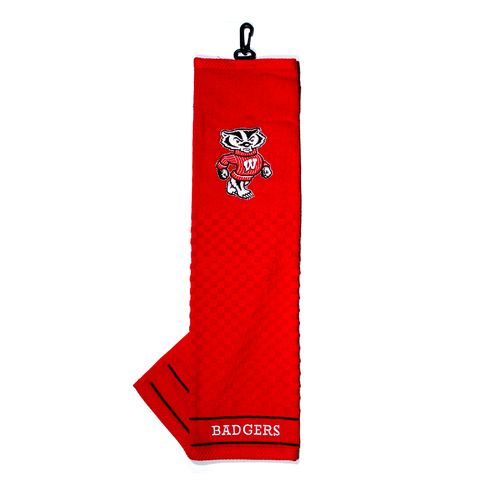 Team Golf University of Wisconsin Embroidered Towel