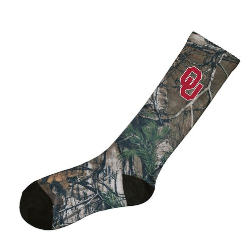 Atlanta Hosiery Company Men's University of Oklahoma Camo Socks