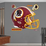 Fathead Washington Redskins Real Big Helmet Decal