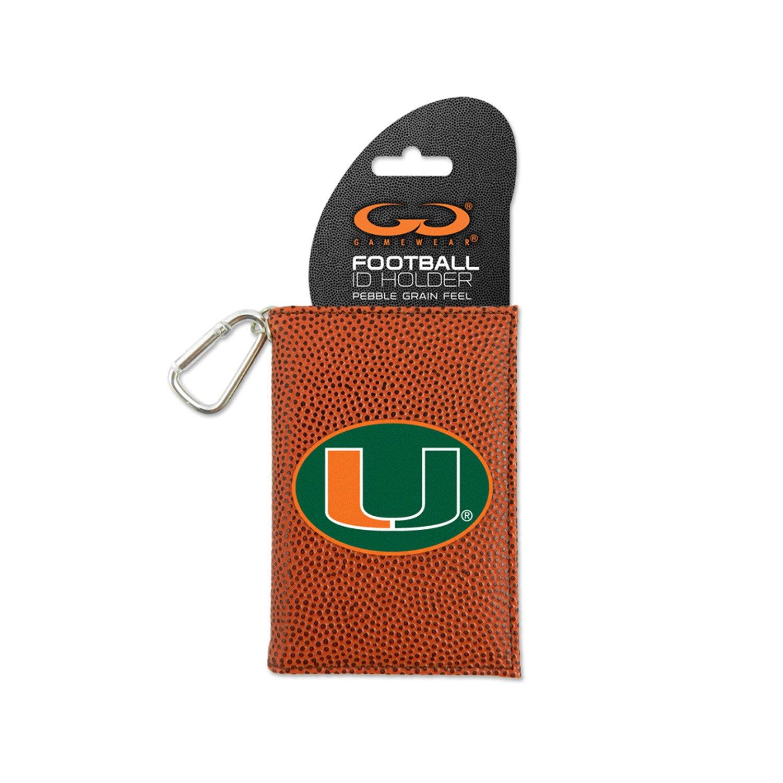 GameWear University of Miami Classic Football ID Holder
