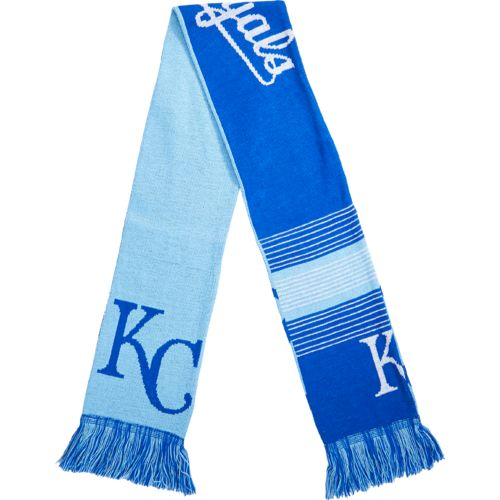 Team Beans Adults' Kansas City Royals Reversible Split Logo Scarf