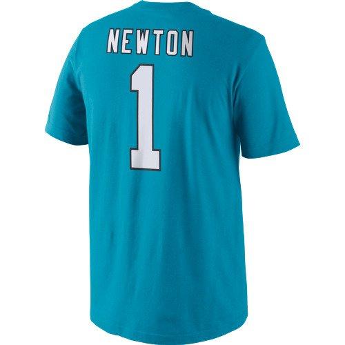 Display product reviews for Nike Men's Carolina Panthers Cam Newton 1 Player Pride T-shirt