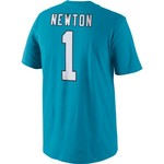 Nike Men's Carolina Panthers Cam Newton 1 Player Pride T-shirt - view number 1