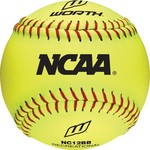 "Worth® 12"" NCAA Training Softballs 12-Pack"
