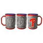 Boelter Brands Philadelphia Phillies Stone Wall 15 oz. Coffee Mugs 2-Pack