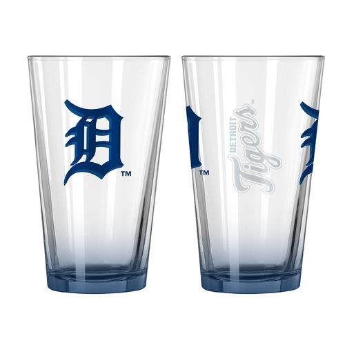 Boelter Brands Detroit Tigers Elite 16 oz. Pint Glasses 2-Pack