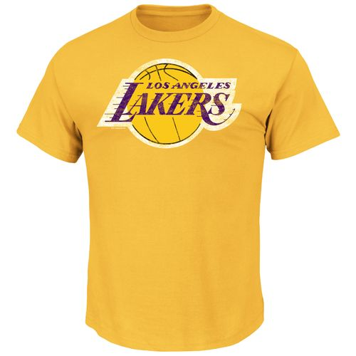 Majestic Men's Los Angeles Lakers Post Up T-shirt