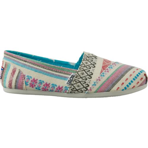 Skechers Womens Multi Color Slip On Shoes Size 10