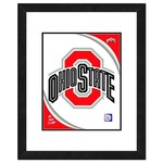 "Photo File Ohio State University Logo 16"" x 20"" Matted and Framed Photo"