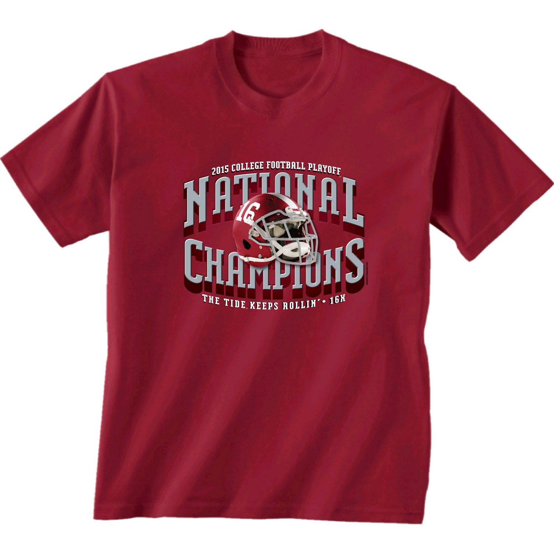 New World Graphics Kids' University of Alabama 2015 National Champions T-shirt