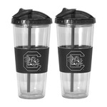Boelter Brands University of South Carolina 22 oz. No-Spill Straw Tumblers 2-Pack - view number 1