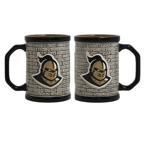 Boelter Brands University of Central Florida Stone Wall 15 oz. Coffee Mugs 2-Pack
