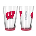 Boelter Brands University of Wisconsin Elite 16 oz. Pint Glasses 2-Pack - view number 1