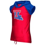 Colosseum Athletics Girls' Louisiana Tech University Jewel Short Sleeve Hoodie