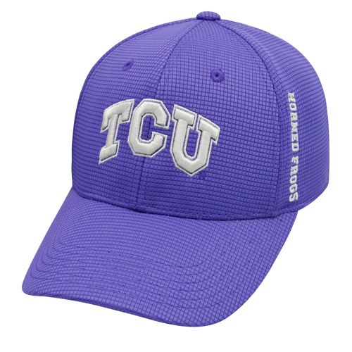 Top of the World Men's Texas Christian University Booster Plus M-F1T™ Cap - view number 1