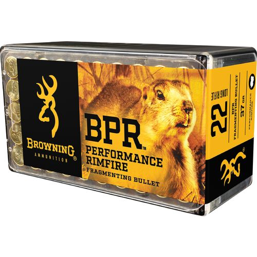 Browning Performance .22 LR 37-Grain Rimfire Ammunition