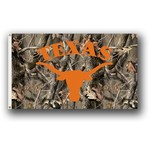 BSI University of Texas Realtree Camo 3' x 5' Flag