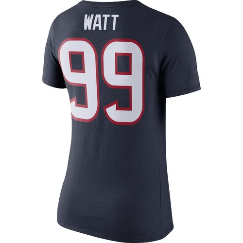 Nike Women's Houston Texans Player Name and Number Pride T-shirt