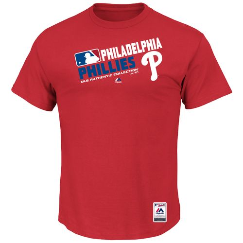 Majestic Men's Philadelphia Phillies On Field Team Choice T-shirt