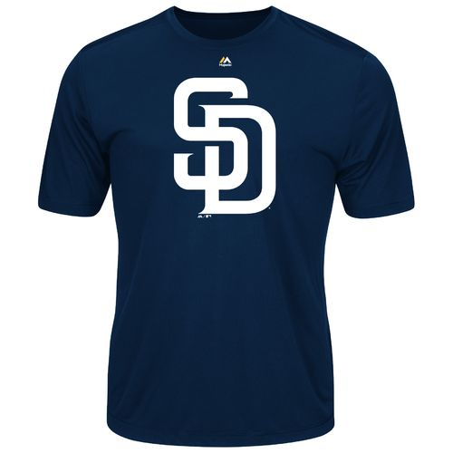 Majestic Men's San Diego Padres Synthetic Official Logo T-shirt
