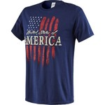 Academy Sports + Outdoors™ Adults' Americana 2016 Vintage Flag T-shirt