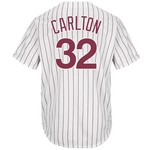 Majestic Men's Philadelphia Phillies Steve Carlton #32 Cooperstown Cool Base 1980 Replica Jersey