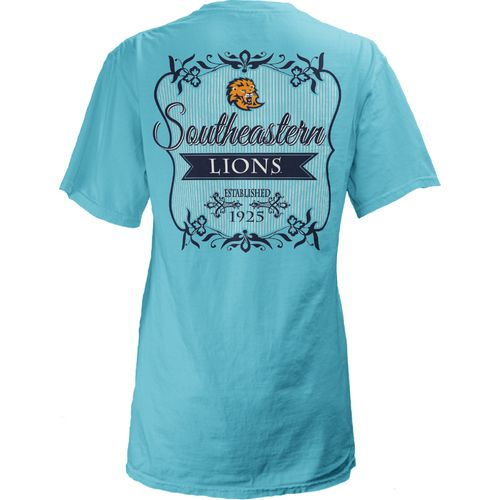 Three Squared Juniors' Southeastern Louisiana University Flora T-shirt