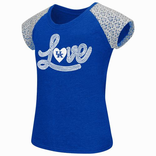 Colosseum Athletics Girls' University of Kentucky All About That Lace T-shirt