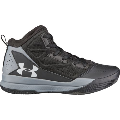 Under Armour Boys' BGS Jet Mid-Top Basketball Shoes