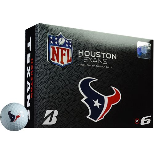 Bridgestone Golf Houston Texans e6 Golf Balls 12-Pack
