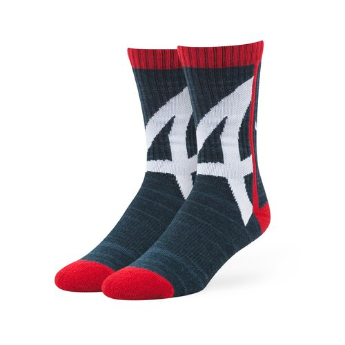 '47 Atlanta Braves Hot Box Sport Socks
