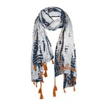 Chicka-d Women's Auburn University Tie Dye Scarf