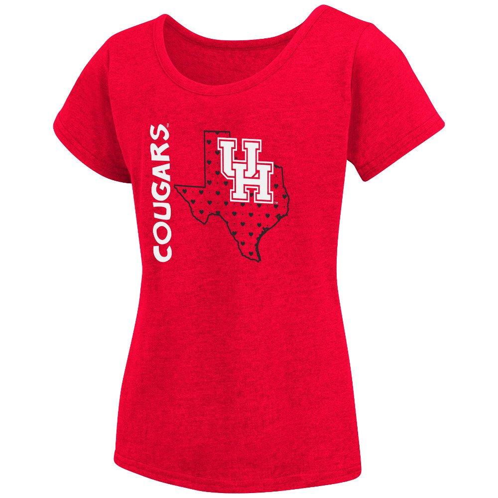 Colosseum athletics girls 39 university of houston t shirt for T shirt printing in houston tx