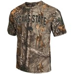Colosseum Athletics™ Men's Texas State University Camo Brow Tine T-shirt