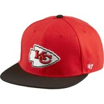 '47 Kids' Kansas City Chiefs Lil Shot 2-Tone Captain Cap