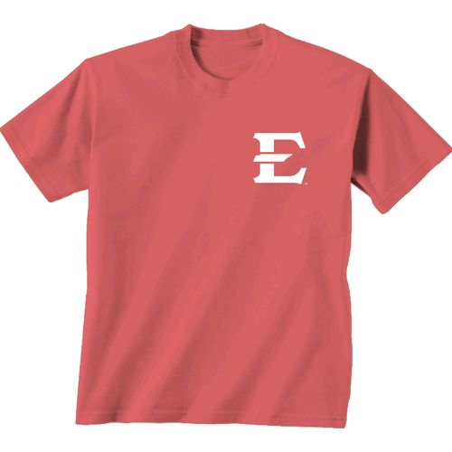 New World Graphics Women's East Tennessee State University Floral T-shirt - view number 2