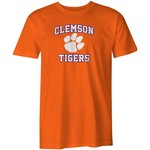 Image One Men's Clemson University Arch Logo Comfort Color T-shirt