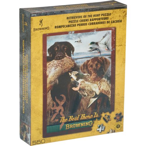 Browning™ Retrievers of the Hunt 500-Piece Jigsaw Puzzle