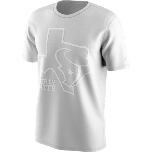 Nike Men's Houston Texans Liberty Whiteout T-shirt