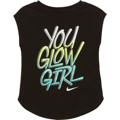Nike Girls' You Glow Girl Modern T-shirt