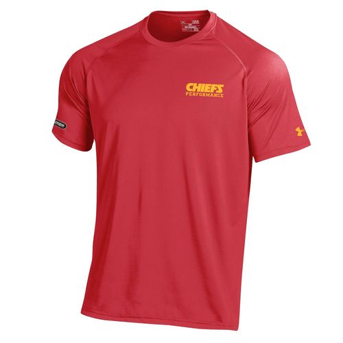 Under Armour™ NFL Combine Authentic Men's Kansas City Chiefs Core Tech T-shirt