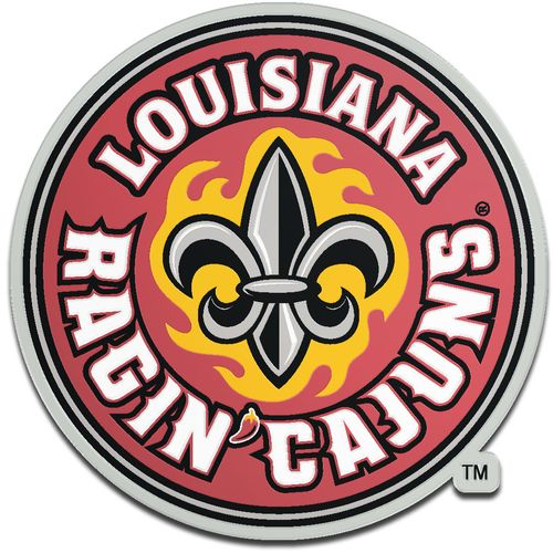 Stockdale University of Louisiana at Lafayette Laser-Cut Auto Emblem - view number 1
