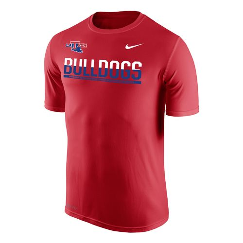 Nike™ Men's Louisiana Tech University Dri-FIT Legend 2.0 Short Sleeve T-shirt