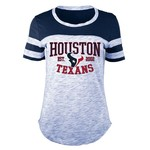 5th & Ocean Clothing Juniors' Houston Texans Space Dye Fan T-shirt