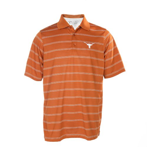 We Are Texas Men's University of Texas Striped Deluxe Polo Shirt